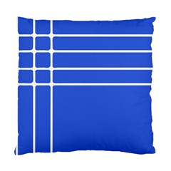 Stripes Pattern Template Texture Standard Cushion Case (One Side)