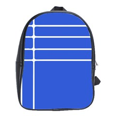 Stripes Pattern Template Texture School Bags(large)