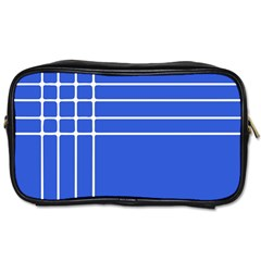 Stripes Pattern Template Texture Toiletries Bags 2-Side