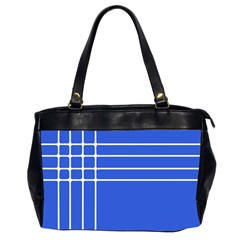 Stripes Pattern Template Texture Office Handbags (2 Sides)
