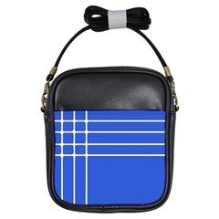 Stripes Pattern Template Texture Girls Sling Bags