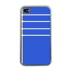 Stripes Pattern Template Texture Apple iPhone 4 Case (Clear)