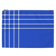 Stripes Pattern Template Texture Cosmetic Bag (xxl)