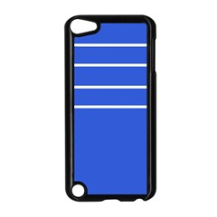 Stripes Pattern Template Texture Apple Ipod Touch 5 Case (black)