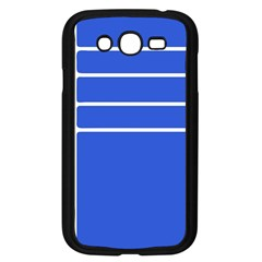 Stripes Pattern Template Texture Samsung Galaxy Grand DUOS I9082 Case (Black)