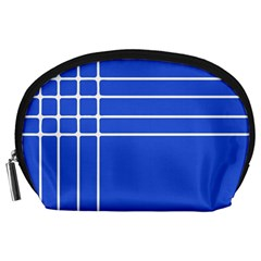 Stripes Pattern Template Texture Accessory Pouches (large)