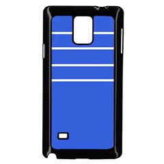 Stripes Pattern Template Texture Samsung Galaxy Note 4 Case (Black)