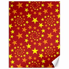 Star Stars Pattern Design Canvas 18  x 24