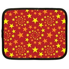 Star Stars Pattern Design Netbook Case (XXL)