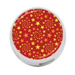 Star Stars Pattern Design 4 Port Usb Hub (one Side)