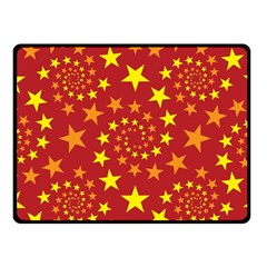 Star Stars Pattern Design Fleece Blanket (Small)