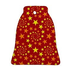 Star Stars Pattern Design Bell Ornament (Two Sides)
