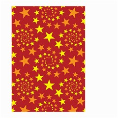 Star Stars Pattern Design Small Garden Flag (two Sides)