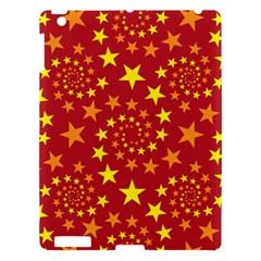 Star Stars Pattern Design Apple iPad 3/4 Hardshell Case