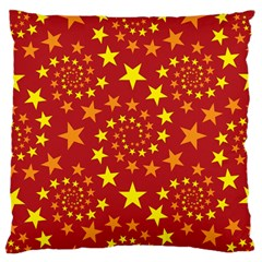 Star Stars Pattern Design Large Cushion Case (One Side)