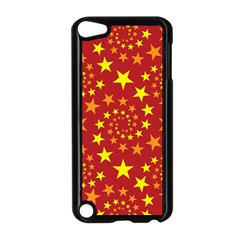 Star Stars Pattern Design Apple iPod Touch 5 Case (Black)