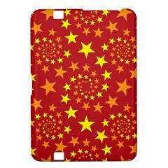 Star Stars Pattern Design Kindle Fire Hd 8 9
