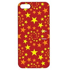 Star Stars Pattern Design Apple Iphone 5 Hardshell Case With Stand