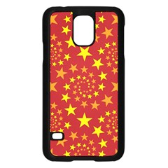 Star Stars Pattern Design Samsung Galaxy S5 Case (black)
