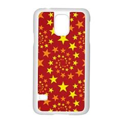 Star Stars Pattern Design Samsung Galaxy S5 Case (white)