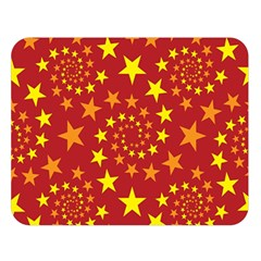 Star Stars Pattern Design Double Sided Flano Blanket (large)