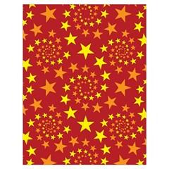 Star Stars Pattern Design Drawstring Bag (Large)