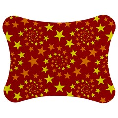 Star Stars Pattern Design Jigsaw Puzzle Photo Stand (bow)