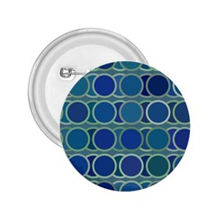 Circles Abstract Blue Pattern 2 25  Buttons