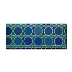 Circles Abstract Blue Pattern Cosmetic Storage Cases