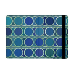 Circles Abstract Blue Pattern iPad Mini 2 Flip Cases