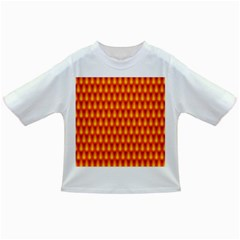 Simple Minimal Flame Background Infant/Toddler T-Shirts