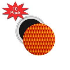 Simple Minimal Flame Background 1 75  Magnets (10 Pack)