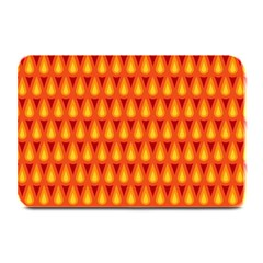 Simple Minimal Flame Background Plate Mats