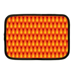 Simple Minimal Flame Background Netbook Case (Medium)