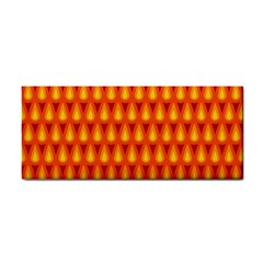 Simple Minimal Flame Background Cosmetic Storage Cases