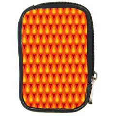 Simple Minimal Flame Background Compact Camera Cases