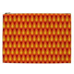 Simple Minimal Flame Background Cosmetic Bag (xxl)