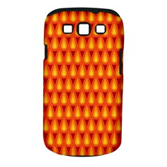 Simple Minimal Flame Background Samsung Galaxy S III Classic Hardshell Case (PC+Silicone)