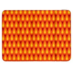 Simple Minimal Flame Background Samsung Galaxy Tab 7  P1000 Flip Case
