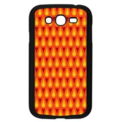 Simple Minimal Flame Background Samsung Galaxy Grand DUOS I9082 Case (Black)