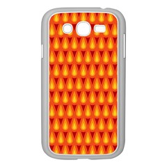 Simple Minimal Flame Background Samsung Galaxy Grand Duos I9082 Case (white)
