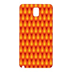 Simple Minimal Flame Background Samsung Galaxy Note 3 N9005 Hardshell Back Case