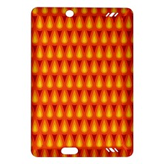 Simple Minimal Flame Background Amazon Kindle Fire Hd (2013) Hardshell Case