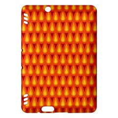 Simple Minimal Flame Background Kindle Fire Hdx Hardshell Case