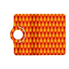 Simple Minimal Flame Background Kindle Fire Hd (2013) Flip 360 Case