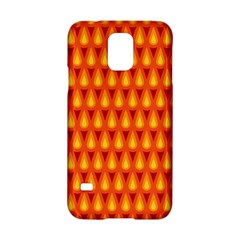 Simple Minimal Flame Background Samsung Galaxy S5 Hardshell Case