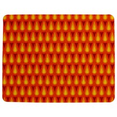Simple Minimal Flame Background Jigsaw Puzzle Photo Stand (Rectangular)