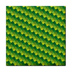 Dragon Scale Scales Pattern Tile Coasters