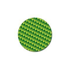 Dragon Scale Scales Pattern Golf Ball Marker