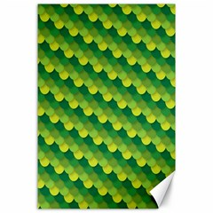 Dragon Scale Scales Pattern Canvas 24  X 36